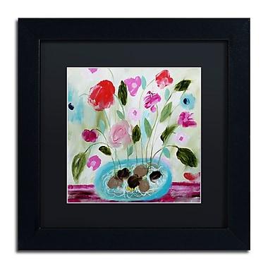 Trademark Fine Art Carrie Schmitt 'Winter Blooms II' 11 x 11 (886511734180)