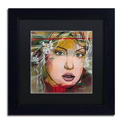 Trademark Fine Art Andrea 'Esmeralda' 11 x 11 (MA0605-B1111BMF)
