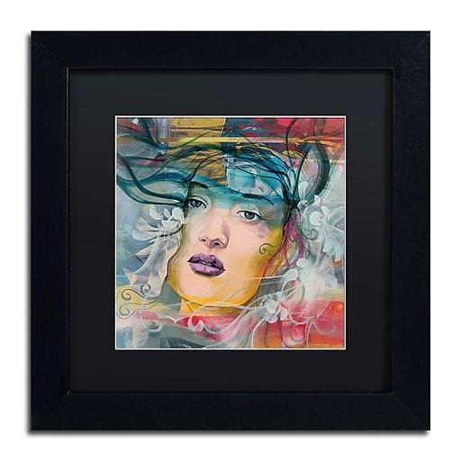 Trademark Fine Art Andrea 'Mirada Lejana'  11 x 11 (MA0607-B1111BMF)