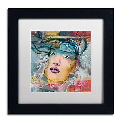 Trademark Fine Art Andrea 'Mirada Lejana' 11 x 11 (MA0607-B1111MF)