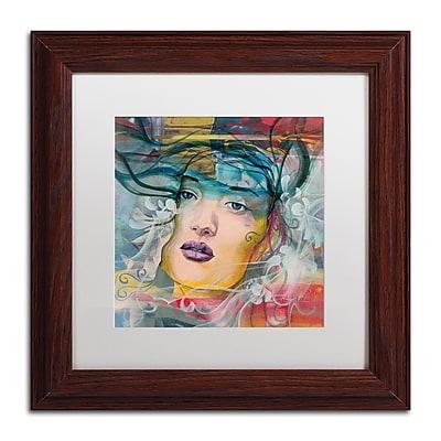 Trademark Fine Art Andrea 'Mirada Lejana' 11 x 11 (MA0607-W1111MF)