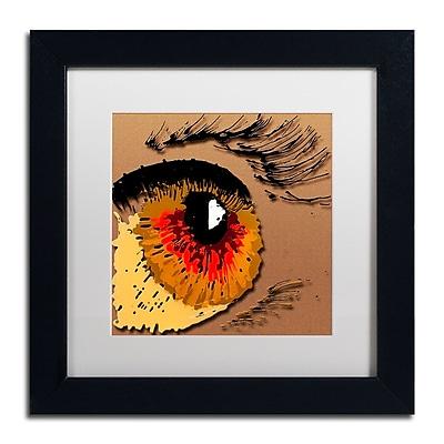 Trademark Fine Art Roderick Stevens 'Eye 1' 11 x 11 (RS1000-B1111MF)