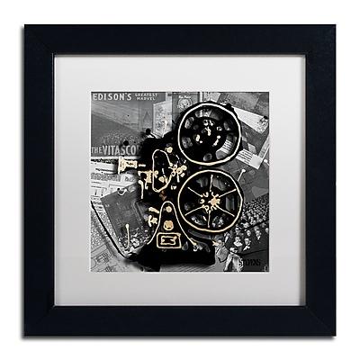 Trademark Fine Art Roderick Stevens 'Movie Projector' 11 x 11 (RS1004-B1111MF)