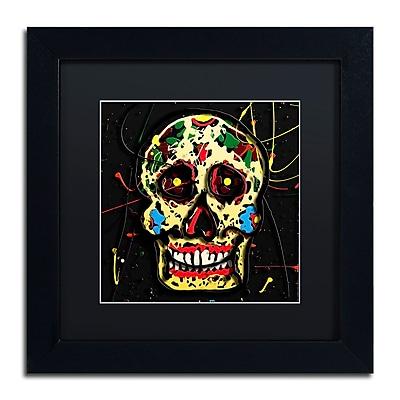 Trademark Fine Art Roderick Stevens 'Muertos 1' 11 x 11 (RS1006-B1111BMF)
