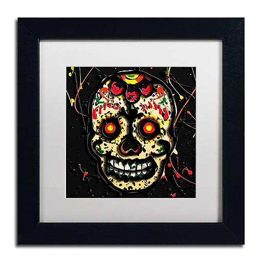 Trademark Fine Art Roderick Stevens 'Muertos 2'  11 x 11 (RS1007-B1111MF)