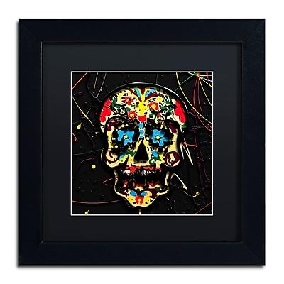 Trademark Fine Art Roderick Stevens 'Muertos 3' 11 x 11 (RS1008-B1111BMF)