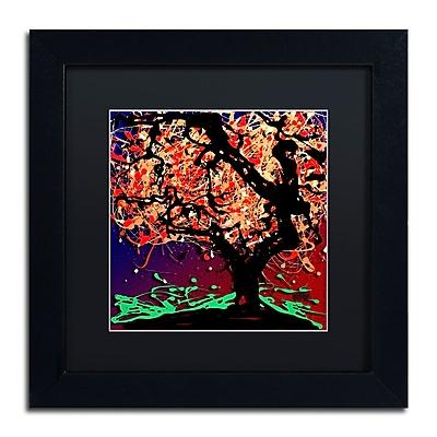 Trademark Fine Art Roderick Stevens 'Fall Red Tree' 11 x 11 (RS981-B1111BMF)