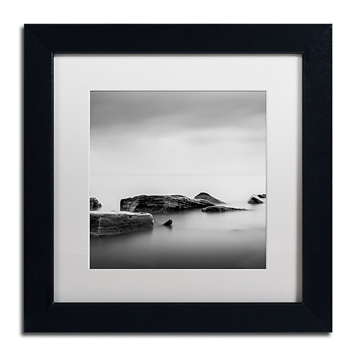 Trademark Fine Art Dave MacVicar 'Breakwater'  11 x 11 (ALI0824-B1111MF)