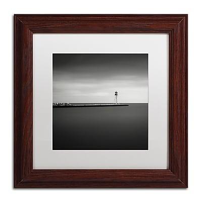 Trademark Fine Art Dave MacVicar 'Erieau 1' 11 x 11 (ALI0830-W1111MF)