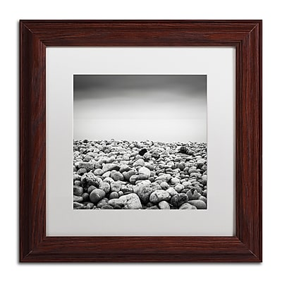 Trademark Fine Art Dave MacVicar 'Pebble Beach'  11 x 11 (ALI0844-W1111MF)