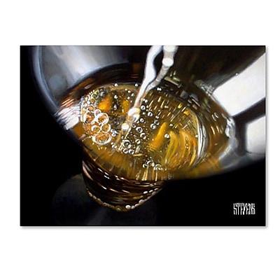 Trademark Fine Art Roderick Stevens 'The Pour' 14 x 19 (75-859-C1419GG)