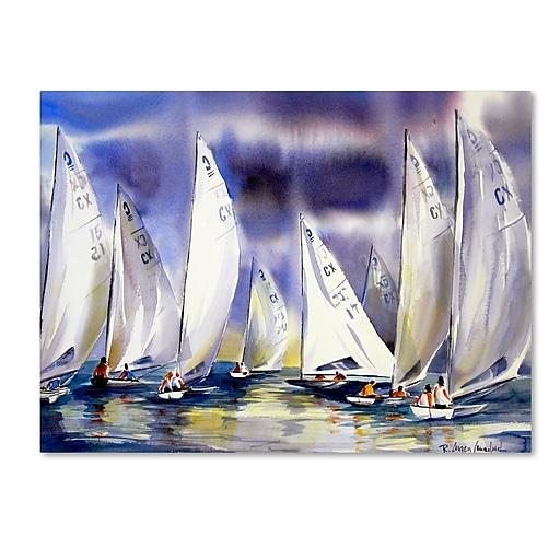 Trademark Fine Art Rita Auerbach 'Regatta'  18 x 24 (ALI0737-C1824GG)