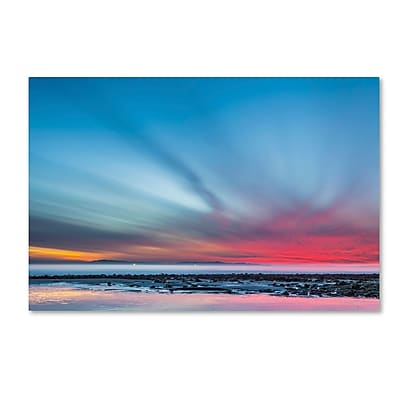 Trademark Fine Art Chris Moyer 'Last Light' 22 x 32 (ALI0762-C2232GG)