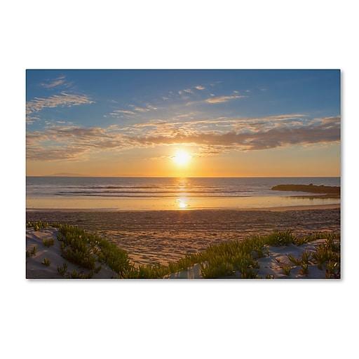 Trademark Fine Art Chris Moyer 'Pierpont Sunset'  30 x 47 (ALI0766-C3047GG)