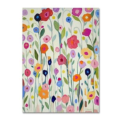 Trademark Fine Art Carrie Schmitt 'Gentle Soul' 35 x 47 (ALI0778-C3547GG)