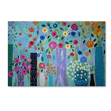 Trademark Fine Art Carrie Schmitt 'Magical' 16 x 24 (ALI0780-C1624GG)