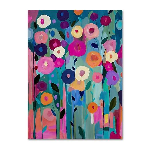 Trademark Fine Art Carrie Schmitt 'Nurture Your Soul'  14 x 19 (ALI0781-C1419GG)