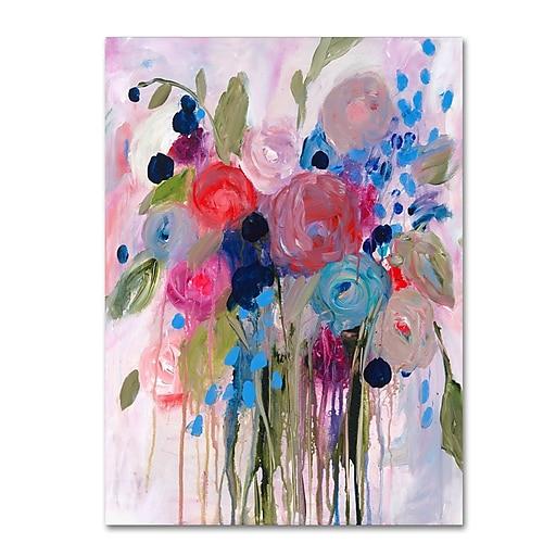 Trademark Fine Art Carrie Schmitt 'Fresh Bouquet'  14 x 19 (ALI0787-C1419GG)