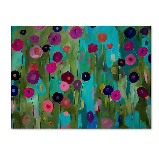 Trademark Fine Art Carrie Schmitt 'Time To Bloom'  18 x 24 (ALI0792-C1824GG)