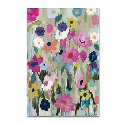 Trademark Fine Art Carrie Schmitt 'Too Pretty To Pick' 16 x 24 (ALI0793-C1624GG)