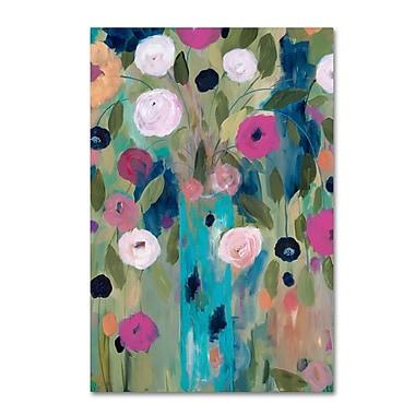 Trademark Fine Art Carrie Schmitt 'Entwined' 16 x 24 (ALI0797-C1624GG)