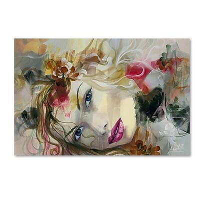 Trademark Fine Art Andrea 'En Mis Suenon' 16 x 24 (MA0603-C1624GG)