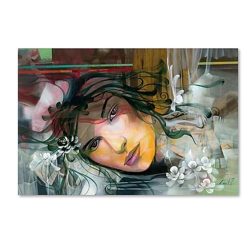 Trademark Fine Art Andrea 'En Pensamientos'  22 x 32 (MA0604-C2232GG)
