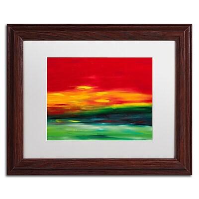 Trademark Fine Art Hilary Winfield 'Island Sky 2' 11 x 14 (ALI0721-W1114MF)