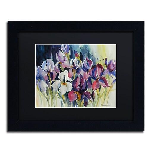 Trademark Fine Art Rita Auerbach 'White Iris'  11 x 14 (886511729889)