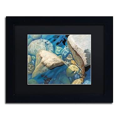 Trademark Fine Art Stephen Stavast 'Blue Water Dance' 11 x 14 (886511730304)