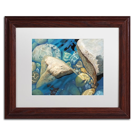 Trademark Fine Art Stephen Stavast 'Blue Water Dance'  11 x 14 (ALI0743-W1114MF)
