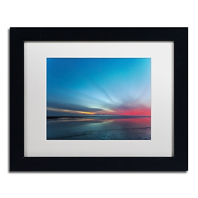 Trademark Fine Art Chris Moyer 'Blue Hour' 11 x 14 (ALI0760-B1114MF)