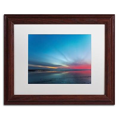 Trademark Fine Art Chris Moyer 'Blue Hour' 11 x 14 (ALI0760-W1114MF)