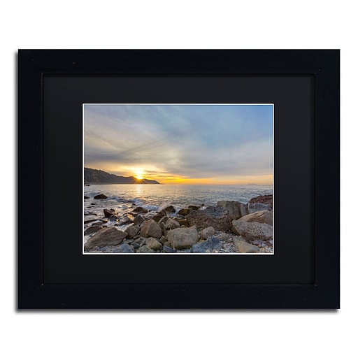 Trademark Fine Art Chris Moyer 'Breaking Day'  11 x 14 (886511731028)