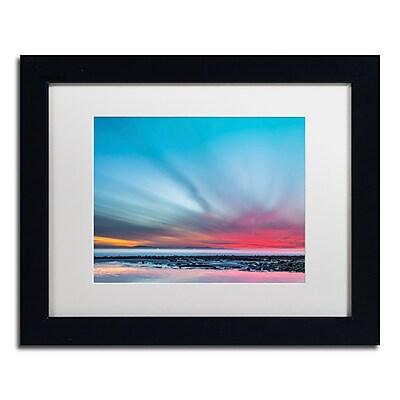 Trademark Fine Art Chris Moyer 'Last Light' 11 x 14 (ALI0762-B1114MF)