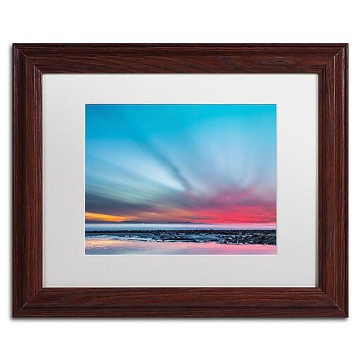 Trademark Fine Art Chris Moyer 'Last Light'  11 x 14 (ALI0762-W1114MF)