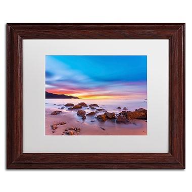 Trademark Fine Art Chris Moyer 'Mussel Shoals Morning' 11 x 14 (ALI0764-W1114MF)