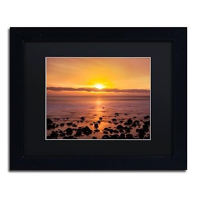 Trademark Fine Art Chris Moyer 'Pacific Sunset' 11 x 14 (886511731424)