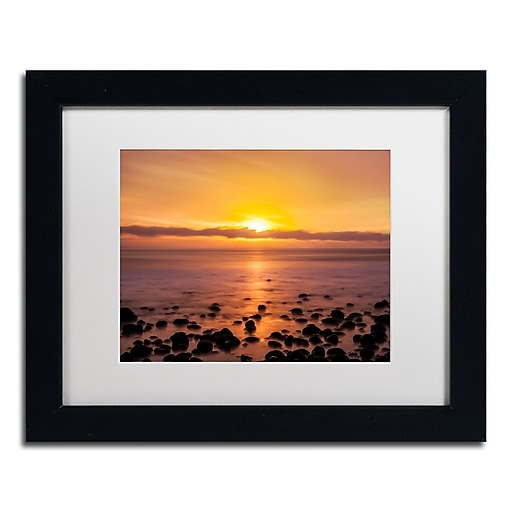 Trademark Fine Art Chris Moyer 'Pacific Sunset'  11 x 14 (ALI0765-B1114MF)