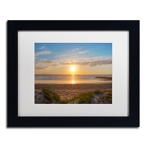 Trademark Fine Art Chris Moyer 'Pierpont Sunset'  11 x 14 (ALI0766-B1114MF)