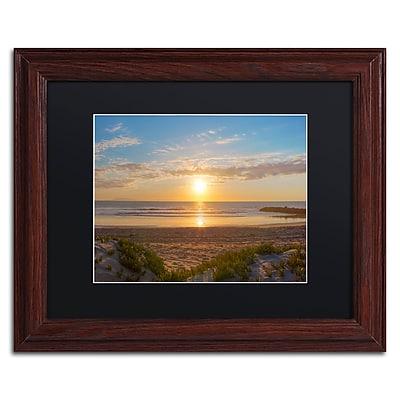 Trademark Fine Art Chris Moyer 'Pierpont Sunset' 11 x 14 (886511731608)