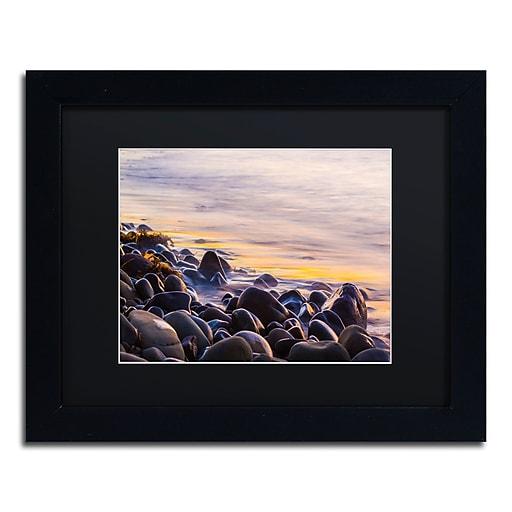 Trademark Fine Art Chris Moyer 'Wet Rock Reflections'  11 x 14 (886511731622)