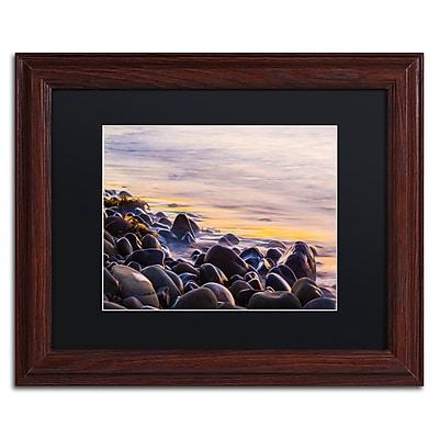 Trademark Fine Art Chris Moyer 'Wet Rock Reflections' 11 x 14 (886511731707)