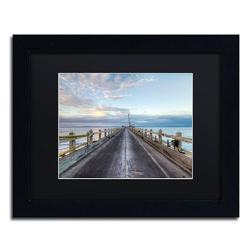 Trademark Fine Art Chris Moyer 'Carpinteria Pier View I'  11 x 14 (886511732025)