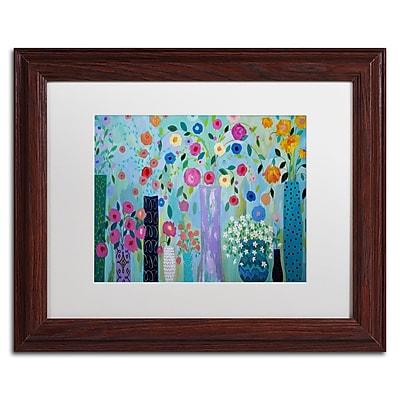 Trademark Fine Art Carrie Schmitt 'Magical' 11 x 14 (ALI0780-W1114MF)