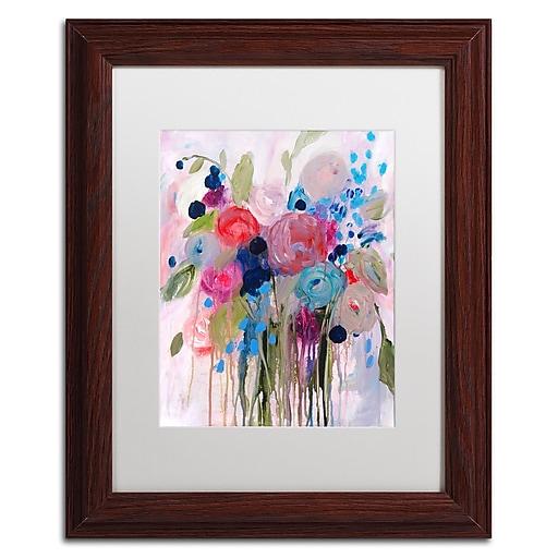Trademark Fine Art Carrie Schmitt 'Fresh Bouquet'  11 x 14 (ALI0787-W1114MF)