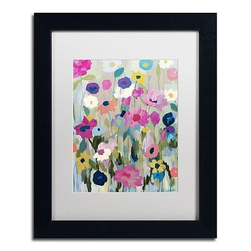 Trademark Fine Art Carrie Schmitt 'Too Pretty To Pick'  11 x 14 (ALI0793-B1114MF)