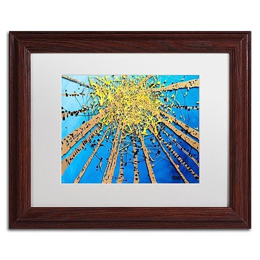 Trademark Fine Art Roderick Stevens 'Brown Aspen Sky'  11 x 14 (RS995-W1114MF)