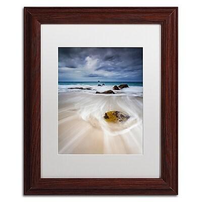 Trademark Fine Art Mathieu Rivrin 'Waveguide' 11 x 14 (RV0043-W1114MF)