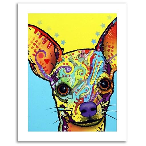 Trademark Fine Art Dean Russo 'Chihuahua' Paper Art 18 x 24 (ALI0237-1824-P)